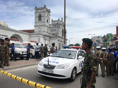 Na Srí Lanke dnes
