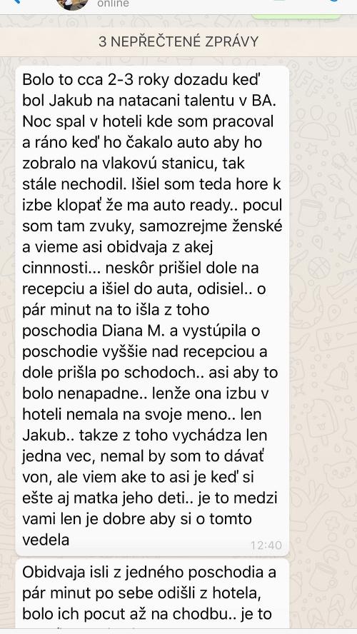 Agáta Hanychová dostala správu,