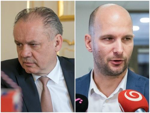 Andrej Kiska a Gábor