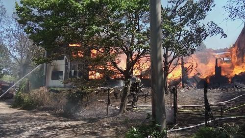 V Bratislave zhorela ubytovňa.