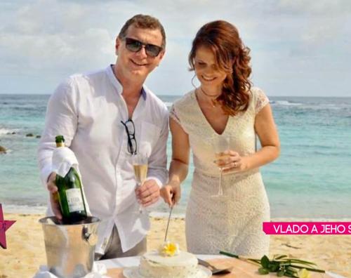 Vlado s manželkou si