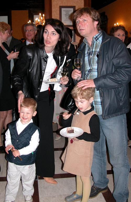 Šťastná rodinka Maroša Kramára