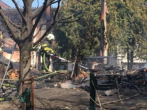 Požiar ubytovne v bratislavskom
