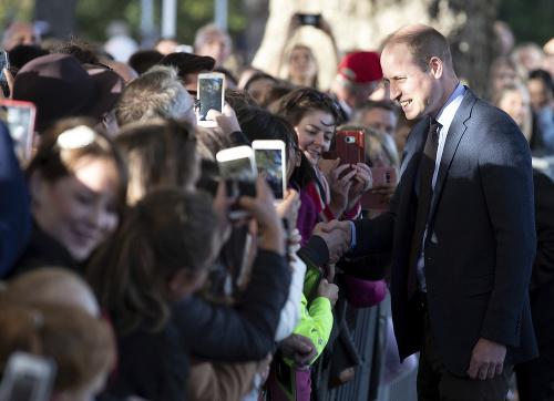 Princ William na návšteve