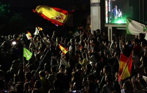 Úspech socialistov v Španielsku,