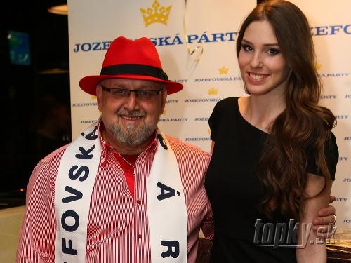 Jozef Oklamčák s bývalou