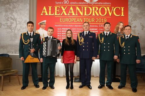 Prípravy na turné Alexandrovci