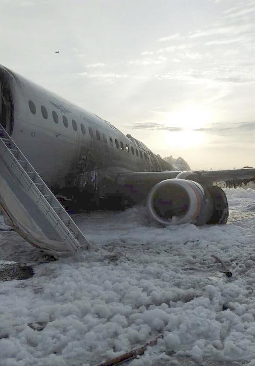 VIDEO z horiaceho lietadla