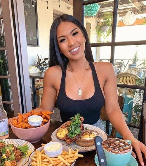 Sexi foodblogerka sa bola