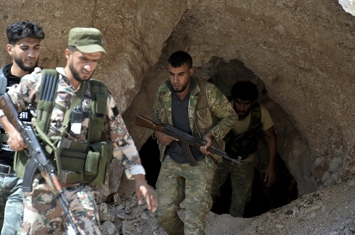 Sýrski vojaci