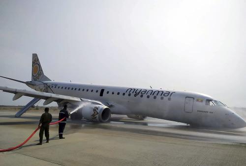 Lietadlo mjanmarskej leteckej spoločnosti