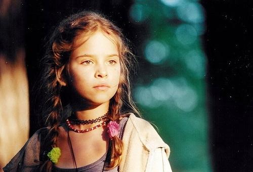 Kristína Svarinská ako 11-ročná