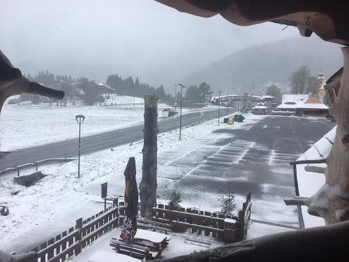 Sneh na Donovaloch.