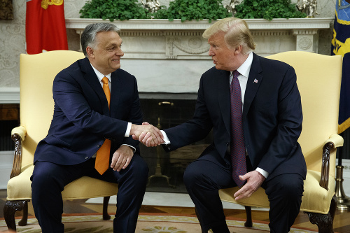 stretnutie Orbana a Trumpa
