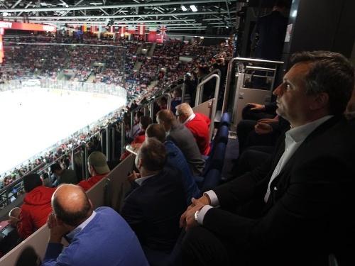 Andrej Danko na hokeji