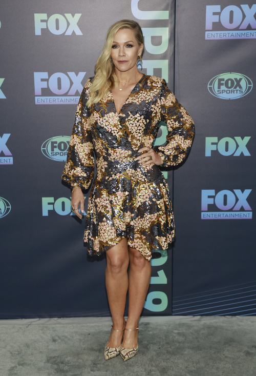 Jennie Garth vyzerá perfektne.