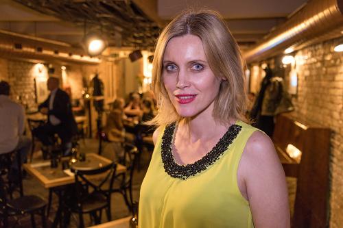 Herečka Silvia Šuvadová.