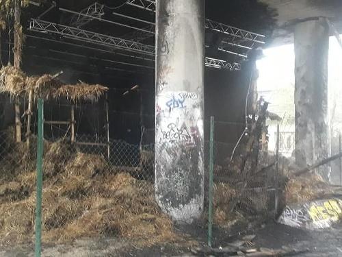 Požiar v Žiline