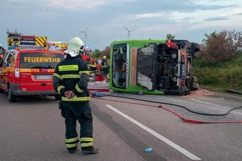 Desivá nehoda v Nemecku: