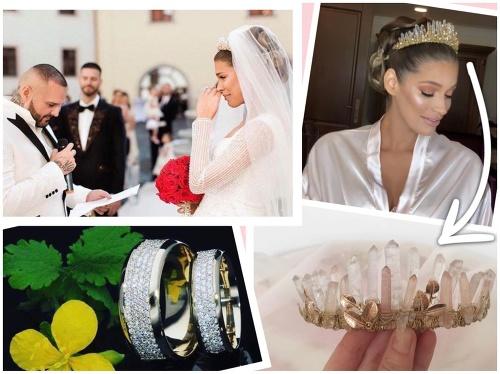 Všetky svadobné detaily boli