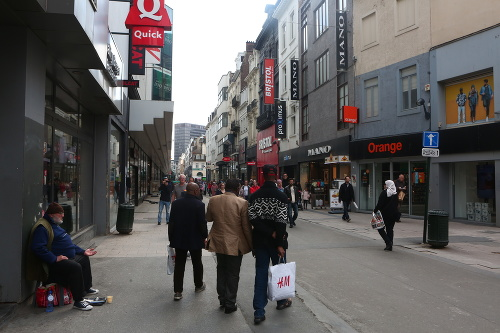 Brusel dýcha históriou aj