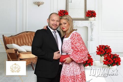Alena Pallová na svadbu