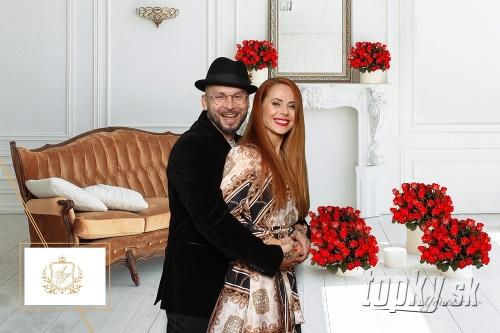 Johnny Mečoch s partnerkou