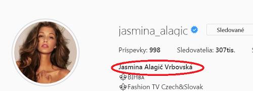 Jasmina Alagič si aj