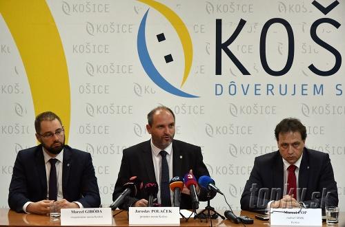 Zľava viceprimátor mesta Košice
