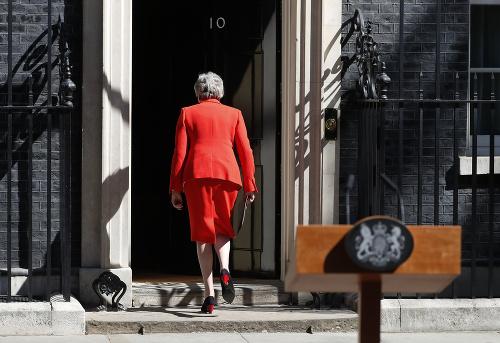 PRÁVE TERAZ Britská premiérka