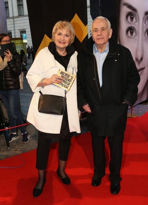 Eliška Balzerová s manželom