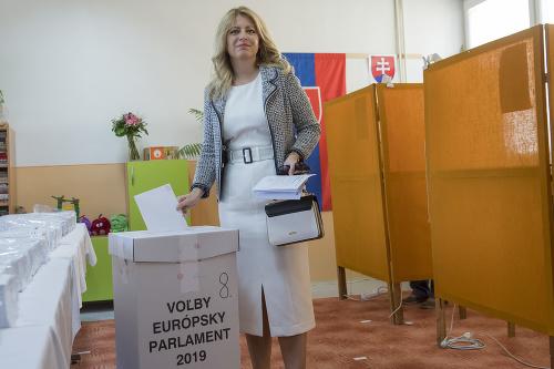 zvolená prezidentka SR Zuzana