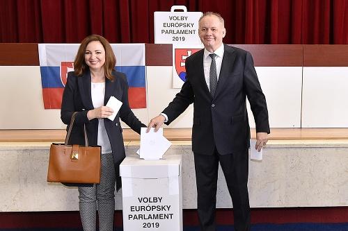 Andrej Kiska s manželkou