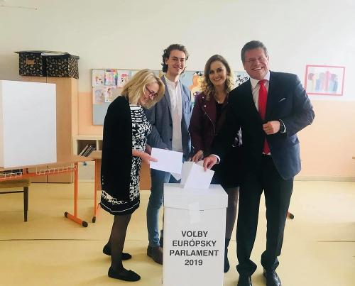 Maroš Šefčovič volil v
