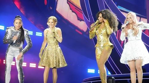 Spice Girls predviedli veľkolepý