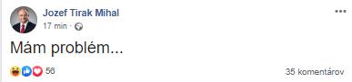 Reakcia Mihála na neoficiálne