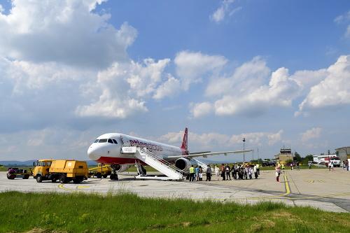 Na letisku v Piešťanoch