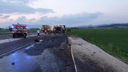 Vážna dopravná nehoda pred