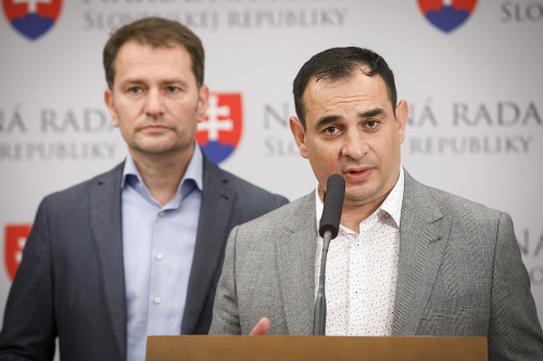 Igor Matovič a Peter