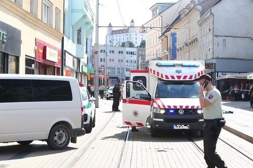 MIMORIADNE Streľba v Bratislave