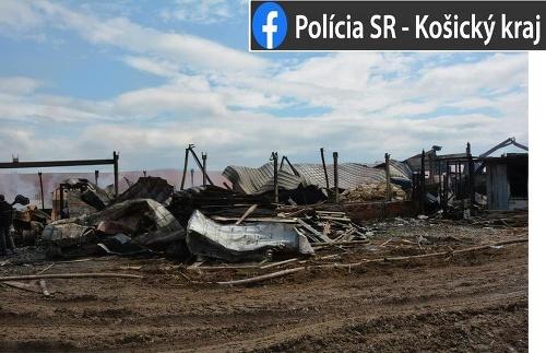 Požiar v Košiciach