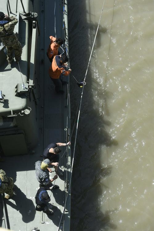 Potopenie maďarskej vyhliadkovej lode