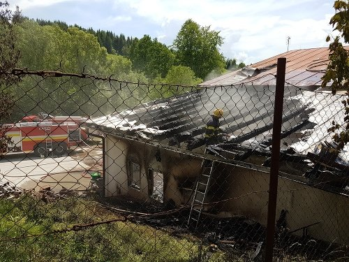 Pri požiari vo Svrčinovci
