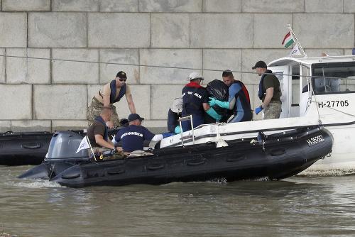 Zrážka lodí pri Budapešti: