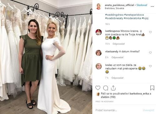 Svadba Anety Pariškovej: Tretíkrát