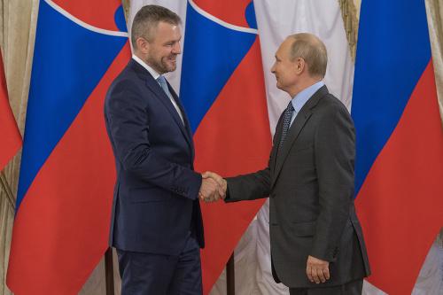 Peter Pellegrini a Vladimir