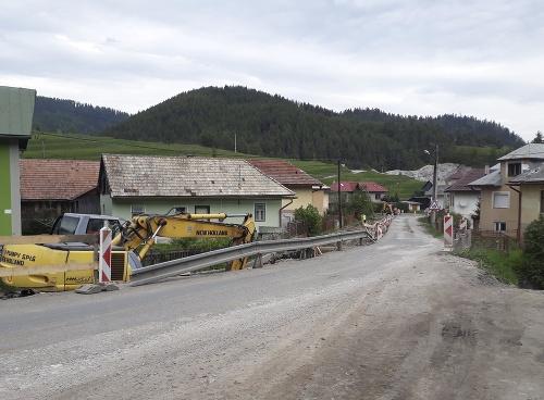 Oprava mosta Vernár