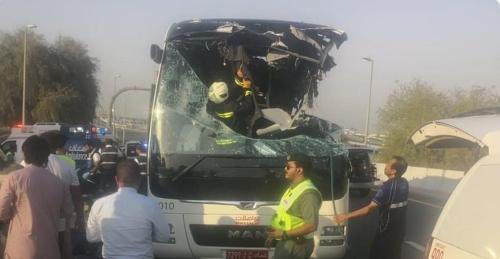 Tragická nehoda autobusu v