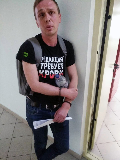 Ruská polícia obvinila investigatívneho