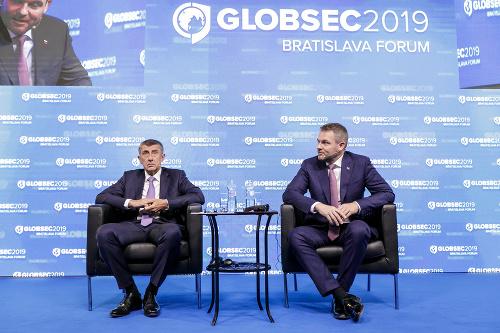 Peter Pellegrini a Andrej
